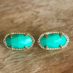Kendra Scott Ellie Turquoise Stud Earrings